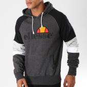 /achat-sweats-capuche/ellesse-sweat-capuche-tricolore-1032n-gris-anthracite-chine-noir-155504.html