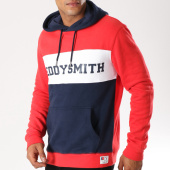 /achat-sweats-capuche/teddy-smith-sweat-capuche-sub-rouge-bleu-marine-blanc-155573.html