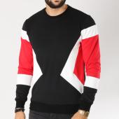 /achat-sweats-col-rond-crewneck/terance-kole-sweat-crewneck-1783-noir-blanc-rouge-155536.html