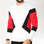 /achat-sweats-col-rond-crewneck/terance-kole-sweat-crewneck-1783-blanc-noir-rouge-155537.html