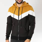 /achat-sweats-zippes-capuche/terance-kole-sweat-zippe-capuche-13180-noir-camel-blanc-155539.html