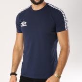/achat-t-shirts/umbro-tee-shirt-avec-bandes-street-bleu-marine-noir-155458.html