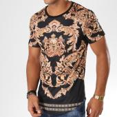 /achat-t-shirts-longs-oversize/uniplay-tee-shirt-oversize-16345-aj909-noir-dore-renaissance-155487.html