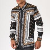 /achat-chemises-manches-longues/uniplay-chemise-manches-longues-up-t512-noir-dore-renaissance-155527.html