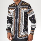 /achat-chemises-manches-longues/uniplay-chemise-manches-longues-up-t512-bleu-marine-dore-renaissance-155528.html