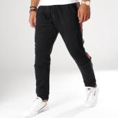 /achat-pantalons-joggings/vip-clothing-pantalon-jogging-avec-bandes-1905-noir-vert-rouge-155561.html
