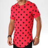 /achat-t-shirts-longs-oversize/vip-clothing-tee-shirt-oversize-3047-rouge-noir-155567.html