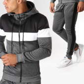 /achat-ensembles-survetement/zayne-paris-ensemble-de-survetement-tx-158-gris-anthracite-chine-noir-blanc-155481.html