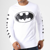 /achat-sweats-col-rond-crewneck/batman-sweat-crewneck-logos-blanc-155670.html