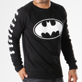 /achat-sweats-col-rond-crewneck/batman-sweat-crewneck-logos-noir-155673.html