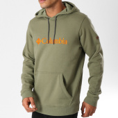 /achat-sweats-capuche/columbia-sweat-capuche-basic-logo-vert-kaki-155754.html