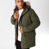 /achat-parkas/jack-and-jones-parka-fourrure-artic-fred-vert-kaki-155669.html