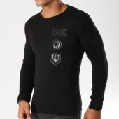 /achat-pulls/john-h-pull-avec-patchs-brodes-3183-noir-155683.html