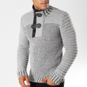 /achat-pulls/john-h-pull-col-amplified-5031-gris-chine-155770.html