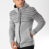 /achat-cardigans-gilets/john-h-gilet-zippe-4007-gris-chine-155772.html