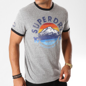 /achat-t-shirts/superdry-tee-shirt-76-ringer-m10001tr-gris-chine-155704.html