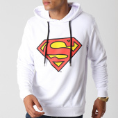 /achat-sweats-capuche/superman-sweat-capuche-classic-logo-blanc-155675.html