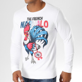/achat-sweats-col-rond-crewneck/swift-guad-sweat-crewneck-the-french-blanc-155789.html