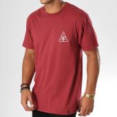 /achat-t-shirts/huf-tee-shirt-memorial-triangle-bordeaux-155877.html