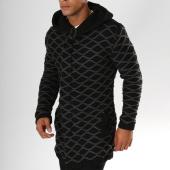 /achat-cardigans-gilets/ikao-gilet-zippe-avec-capuche-f3535-noir-gris-155842.html