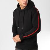 /achat-sweats-capuche/lbo-sweat-capuche-avec-bandes-539-noir-155899.html