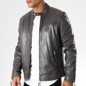 /achat-vestes-cuir/redskins-veste-cuir-casting-truct-gris-anthracite-155894.html