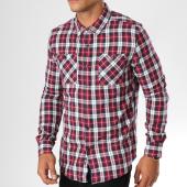 /achat-chemises-manches-longues/the-fresh-brand-chemise-manches-longues-rouge-bleu-marine-ecru-155814.html