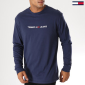 /achat-t-shirts-manches-longues/tommy-hilfiger-jeans-tee-shirt-manches-longues-small-text-5331-bleu-marine-156056.html