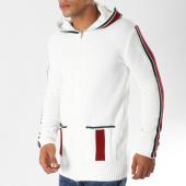 /achat-cardigans-gilets/uniplay-gilet-zippe-avec-bandes-uy266-blanc-155916.html