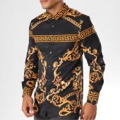 /achat-chemises-manches-longues/uniplay-chemise-manches-longues-up-t508-noir-dore-renaissance-155920.html
