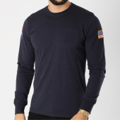 /achat-t-shirts-manches-longues/alpha-industries-tee-shirt-manches-longues-patch-brode-nasa-bleu-marine-156111.html