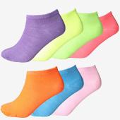 /achat-chaussettes/classic-series-lot-de-7-paires-de-chaussettes-colorx7-violet-jaune-rose-bleu-clair-orange-vert-156088.html