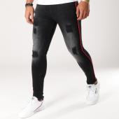 /achat-jeans/grj-denim-jean-skinny-13245-noir-rouge-156170.html