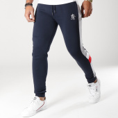 /achat-pantalons-joggings/gym-king-pantalon-jogging-avec-bandes-bottoms-bleu-marine-gris-chine-rouge-156122.html