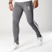 /achat-pantalons-joggings/gym-king-pantalon-jogging-avec-bandes-poly-pant-gris-blanc-bleu-clair-156126.html