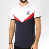 /achat-t-shirts-longs-oversize/gym-king-tee-shirt-oversize-flash-bleu-marine-blanc-rouge-156129.html