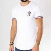 /achat-t-shirts-longs-oversize/gym-king-tee-shirt-oversize-vegas-blanc-bordeaux-156132.html