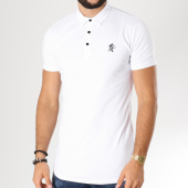 /achat-polos-manches-courtes/gym-king-polo-manches-courtes-oversize-jersey-blanc-156134.html
