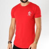 /achat-t-shirts-longs-oversize/gym-king-tee-shirt-oversize-long-line-rouge-156149.html