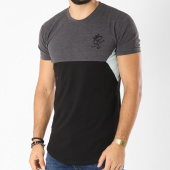 /achat-t-shirts-longs-oversize/gym-king-tee-shirt-oversize-sonny-noir-gris-anthracite-chine-bleu-clair-156151.html