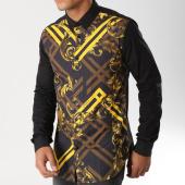 /achat-chemises-manches-longues/versace-jeans-chemise-manches-longues-b1gsb6s2-noir-dore-156242.html