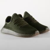 /achat-baskets-basses/adidas-baskets-deerupt-runner-b41771-base-green-orange-156436.html
