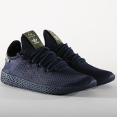 /achat-baskets-basses/adidas-baskets-tennis-hu-pharrell-williams-b41807-collegiate-navy-off-white-156442.html
