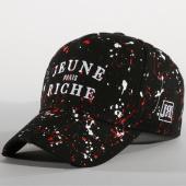 /achat-casquettes-de-baseball/jeune-riche-casquette-zongo-noir-blanc-rouge-156273.html