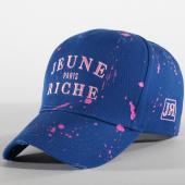 /achat-casquettes-de-baseball/jeune-riche-casquette-zongo-bleu-roi-rose-156275.html