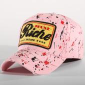 /achat-casquettes-de-baseball/jeune-riche-casquette-riche-tache-rose-rouge-noir-156281.html