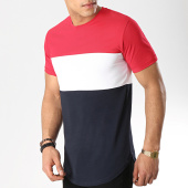 /achat-t-shirts-longs-oversize/lbo-tee-shirt-oversize-tricolore-515-bleu-blanc-rouge-156342.html