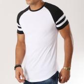 /achat-t-shirts-longs-oversize/lbo-tee-shirt-oversize-raglan-avec-bandes-556-blanc-noir-156345.html