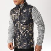 /achat-vestes/classic-series-veste-zippee-5846-vert-kaki-camouflage-gris-chine-156516.html