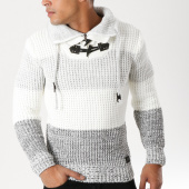 /achat-pulls/classic-series-pull-col-amplified-5818-blanc-gris-chine-156530.html